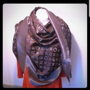Huge Louis Vuitton Shawl